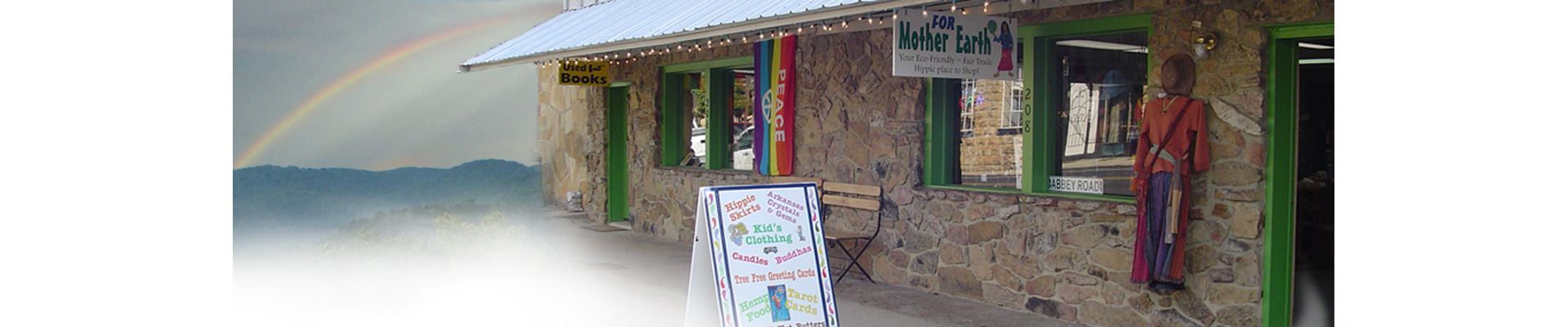 Your friendly fair trade hemp shop located in beautiful Mountain View, Arkansas